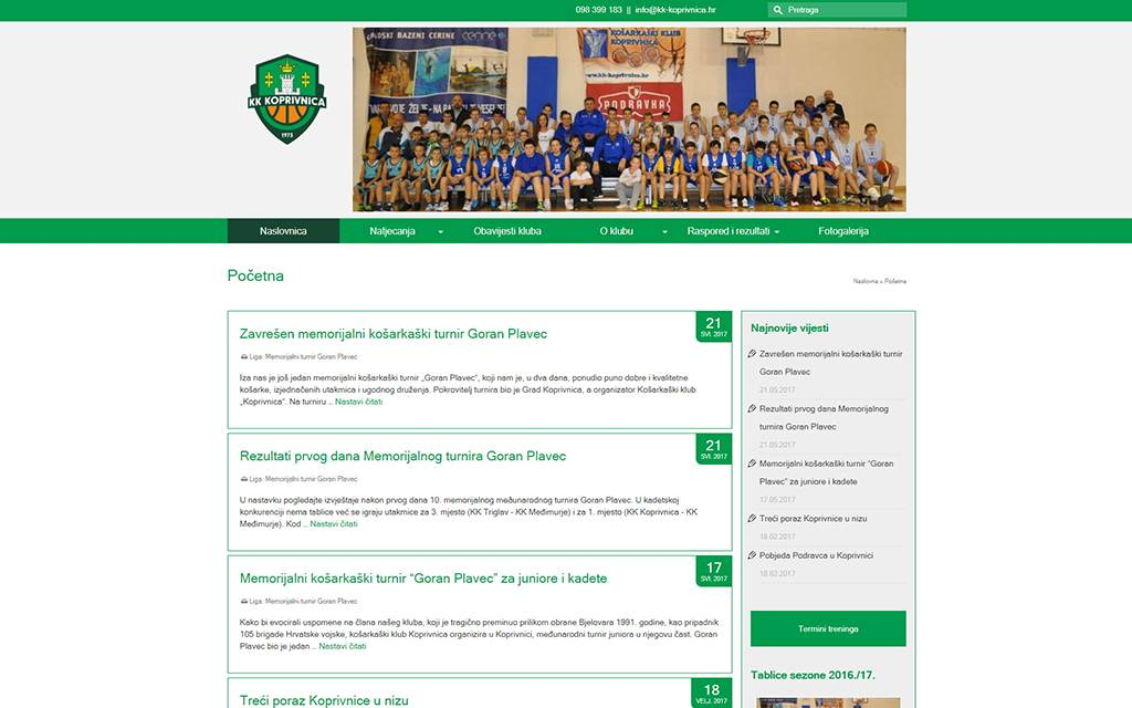 Košarkaški klub Koprivnica