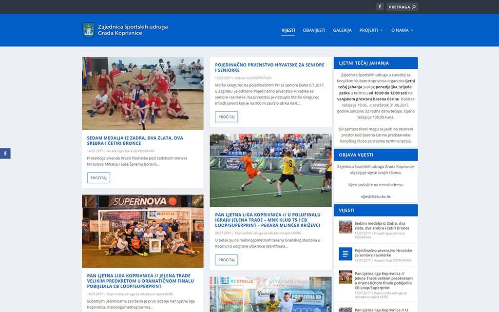 Zajednica športskih udruga grada Koprivnice